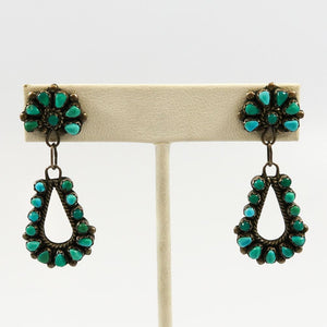 1960s Turquoise Earrings