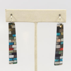 Mosaic Inlay Earrings
