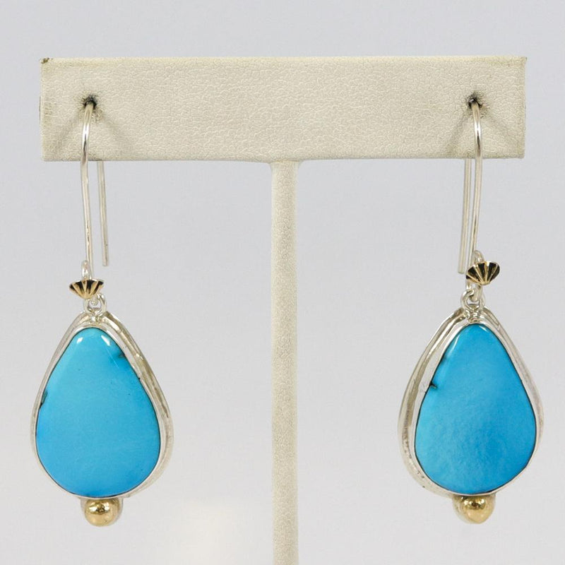 Castle Dome Turquoise Earrings