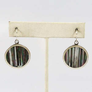 Mother of Pearl Inlay Earrings