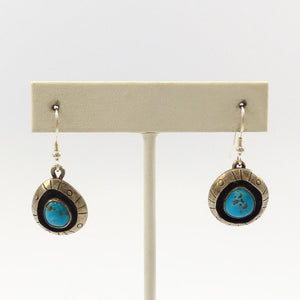 1970s Turquoise Earrings