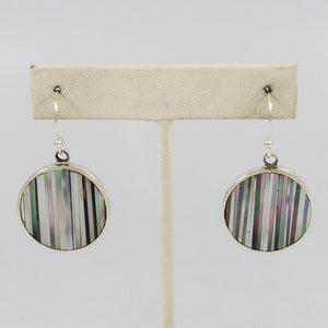 Mosaic Inlaid Earrings