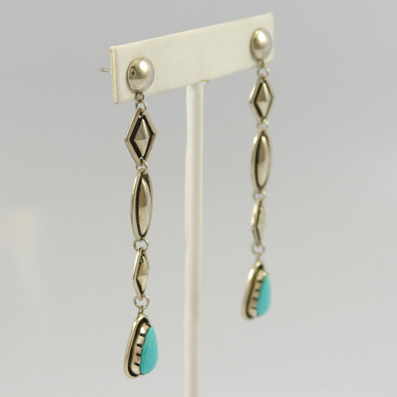 Red Mountain Turquoise Earrings