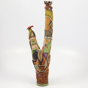 Three Figure Kachina Sculpture