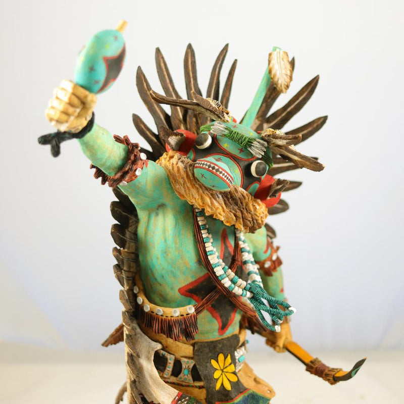 Blue Star Kachina