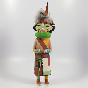 Blue Badger Kachina