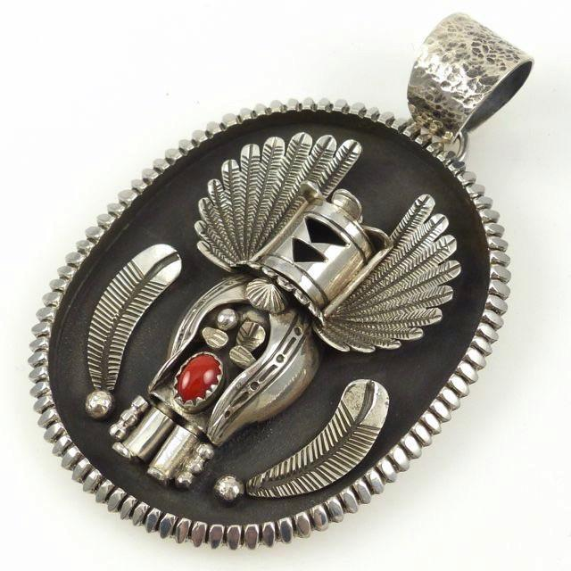 Crow Mother Kachina Pendant