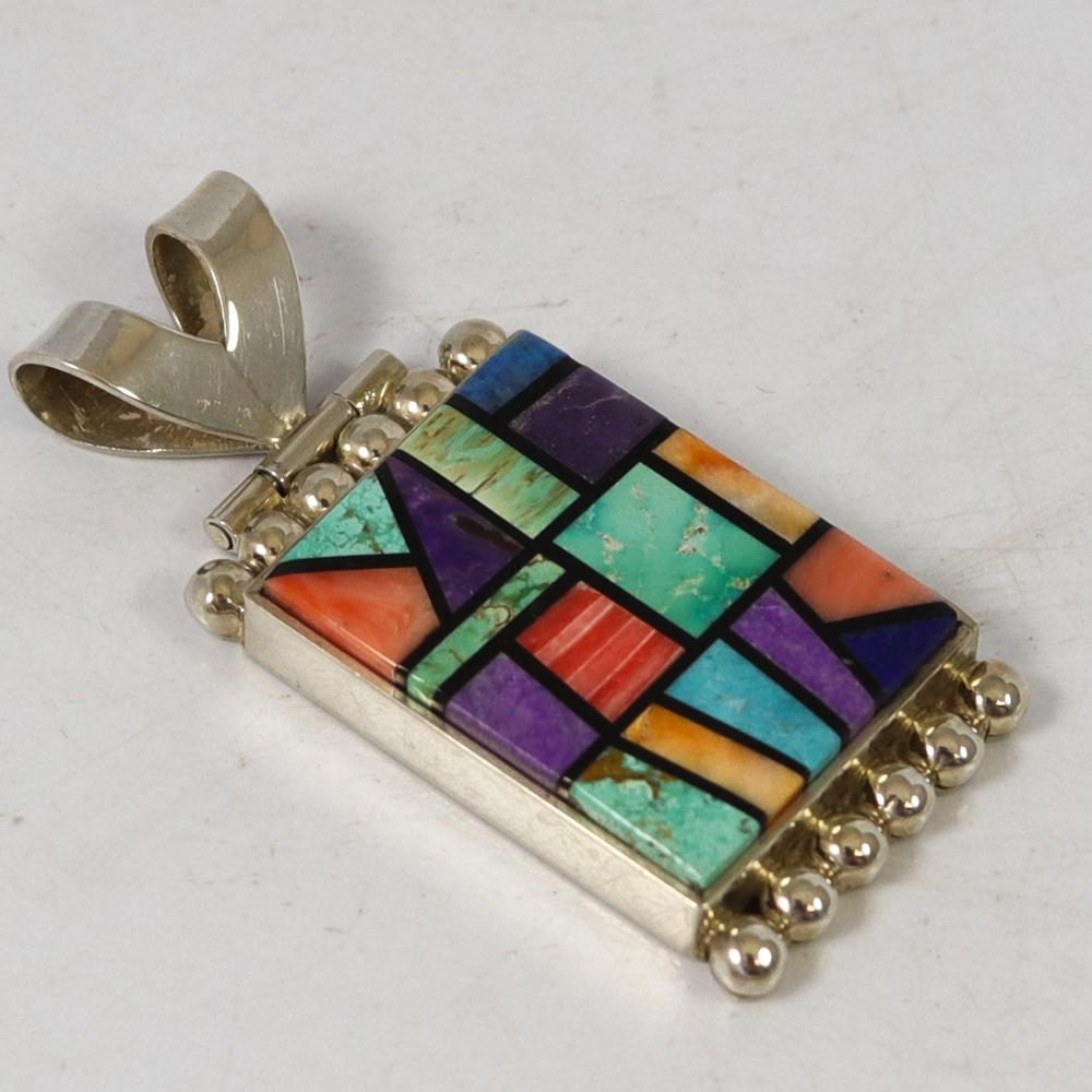 Channel Inlay Pendant