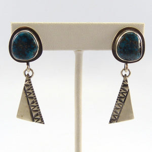 Indian Mountain Turquoise Earrings