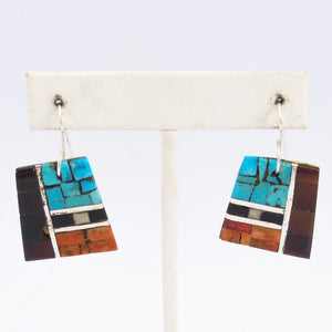 Inlay Earrings