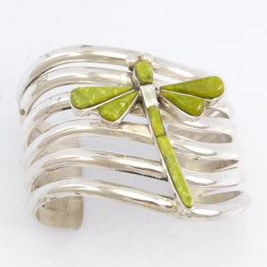 Serpentine Dragonfly Cuff