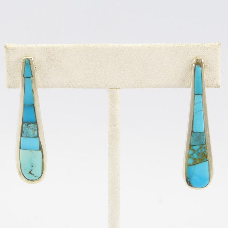 Turquoise Inlay Earrings