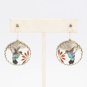 Hummingbird Inlay Earrings