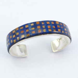 Lapis and Spiny Oyster Shell Cuff