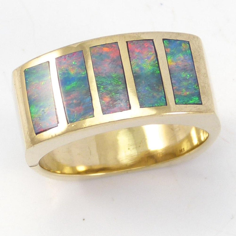 Opal and Gold Ring