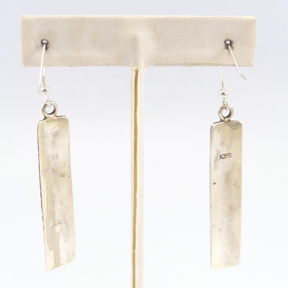 Silver Overlay Earrings
