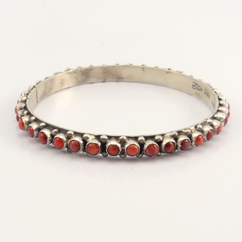 Spiny Oyster Shell Bangle Bracelet