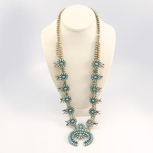 1960s-70s Squash Blossom Necklace