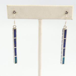 Opal and Sugilite Earrings
