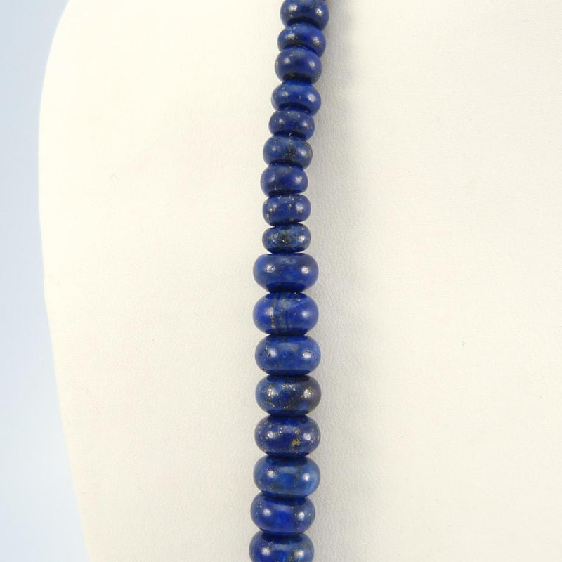 Lapis and Turquoise Bead Necklace