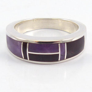 Sugilite Inlay Ring