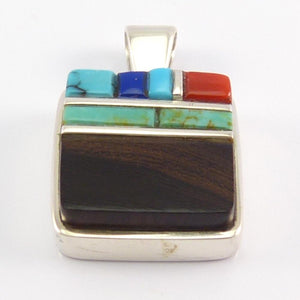 Cobble Inlay Pendant