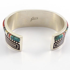 Channel Inlay Cuff