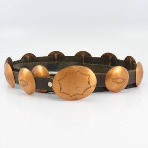 Copper Concha Belt