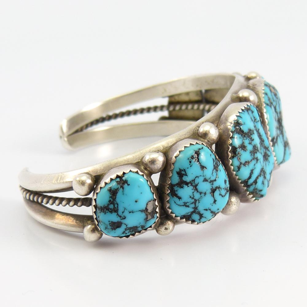 Vintage Sleeping Beauty Turquoise Cuff