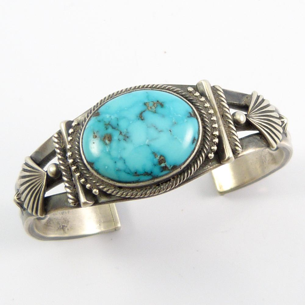 4607131b0277 Indian Mountain Turquoise Cuff - Garland s