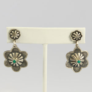 Turquoise Concha Earrings