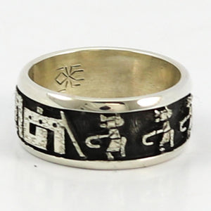 Kachina Overlay Ring