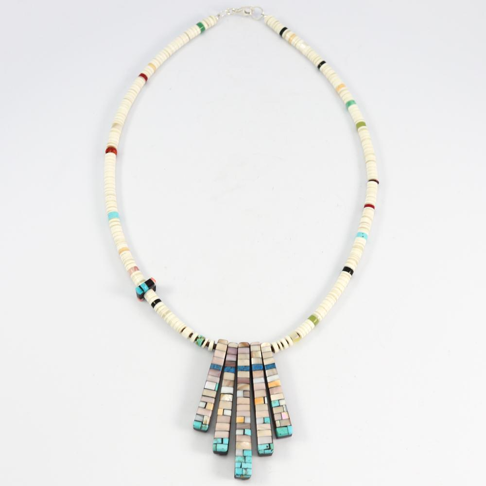 Reversible Tab Necklace