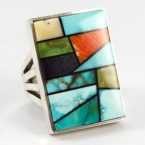 Stained Glass Ring