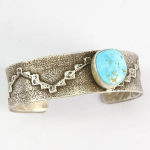 Royal Blue Turquoise Cuff