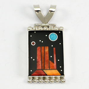 Night Sky Monument Valley Pendant