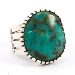 Lone Mountain Turquoise Ring