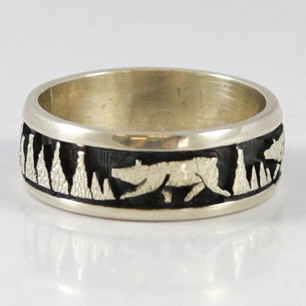 Bear Overlay Ring