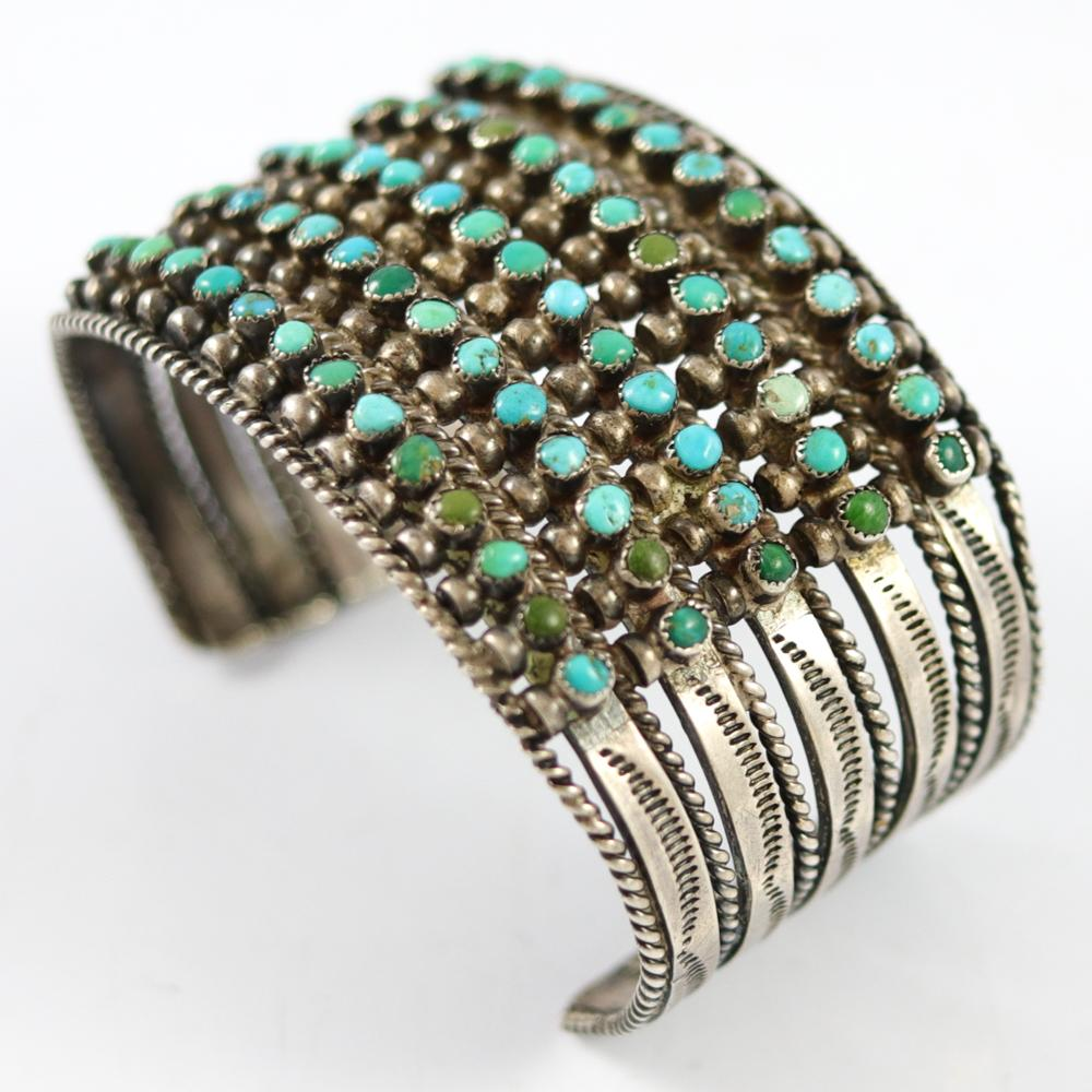Five-Row Turquoise Cuff