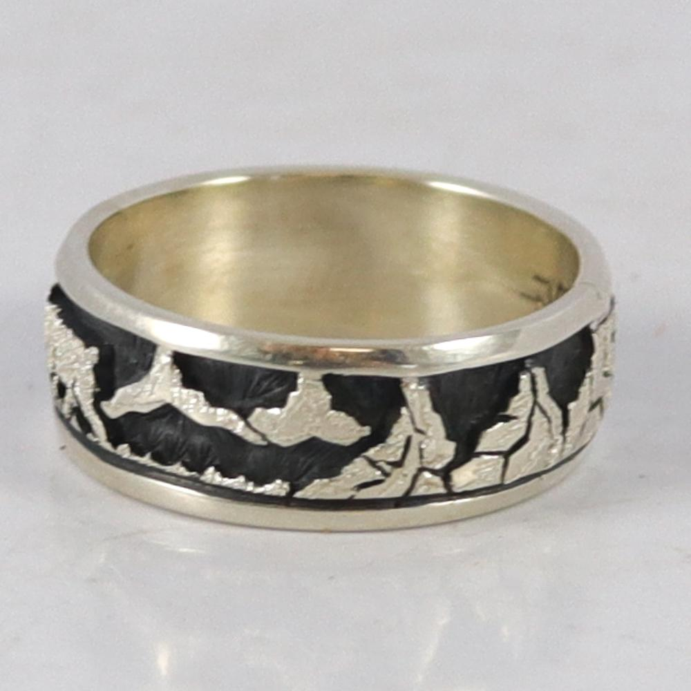 Bear and Coyote Overlay Ring