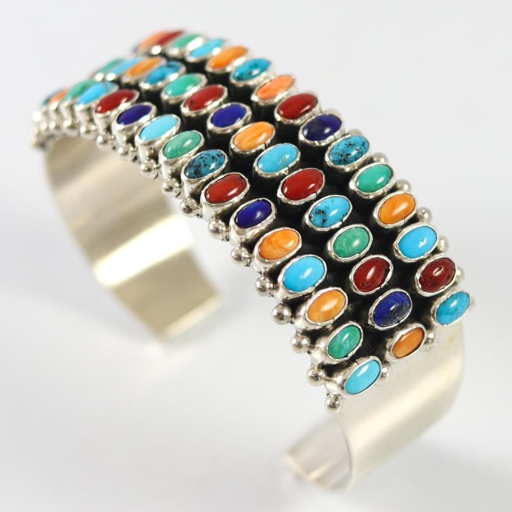 Colorful Row Cuff