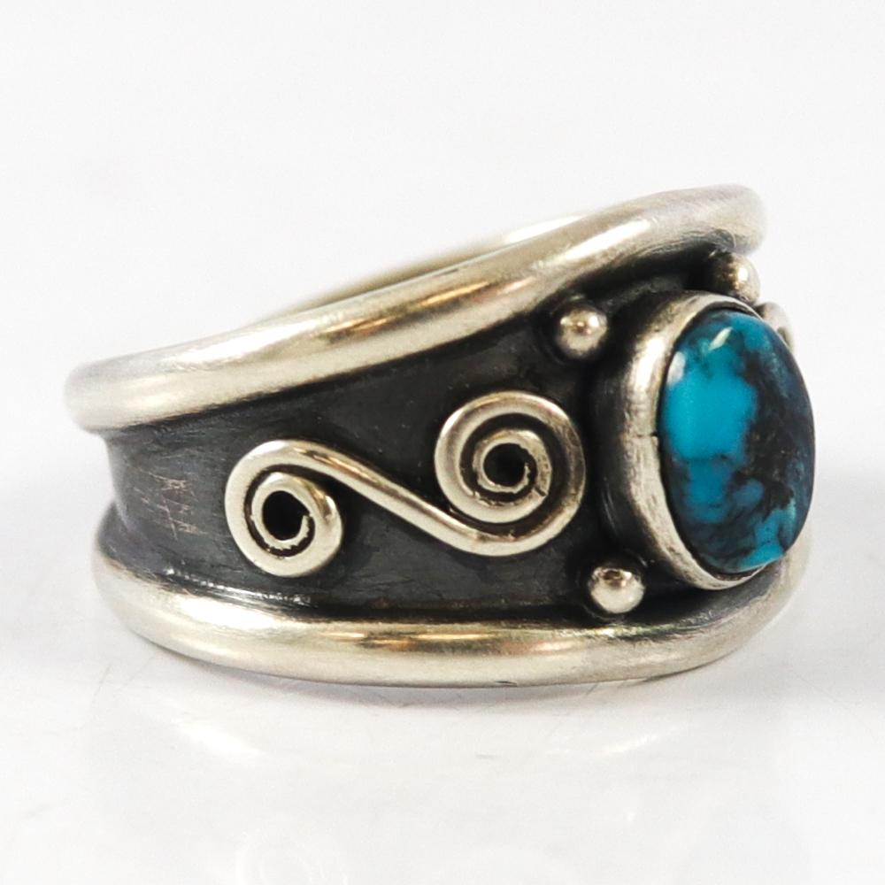 Apache Blue Turquoise Ring