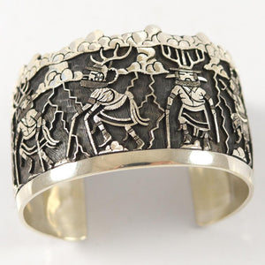Deer Dancer Kachina Cuff