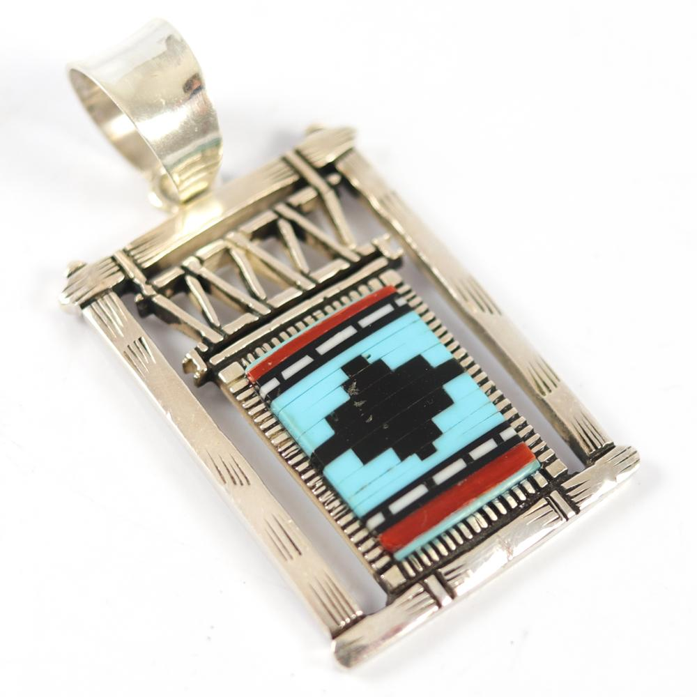 Inlaid Loom Pendant