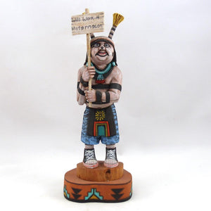 Hano Clown Kachina, Richard Gorman, Kachinas, Garland's Indian Jewelry