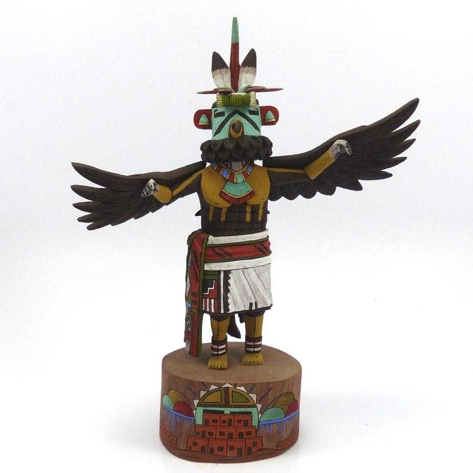 Eagle Dancer Kachina, Leander Tenakhongva, Kachinas, Garland's Indian Jewelry