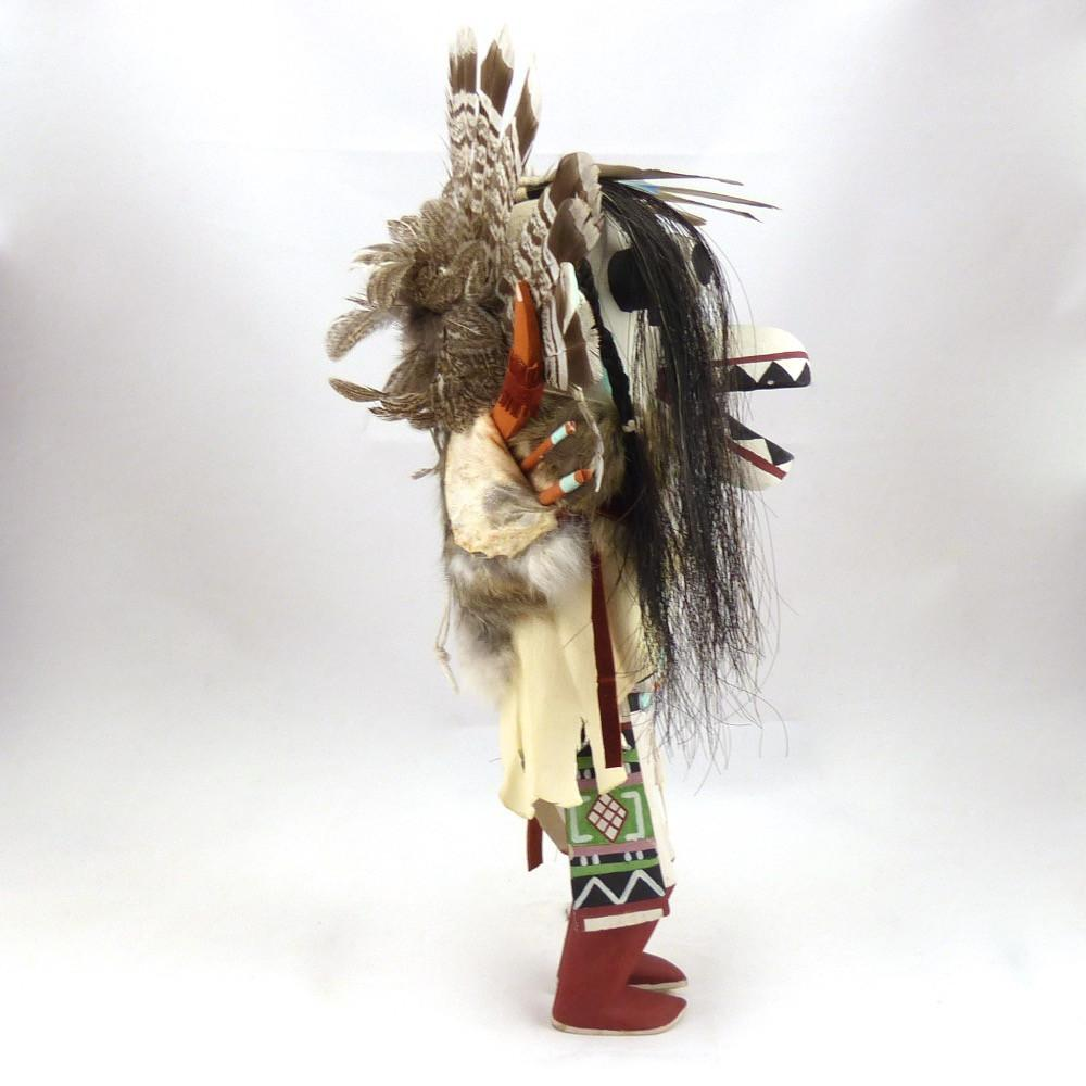 White Ogre Kachina, Ranier Koruh, Kachinas, Garland's Indian Jewelry