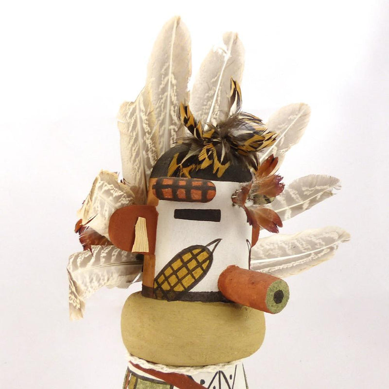 Corn Boy Kachina, Lloyd Honhongva, Kachinas, Garland's Indian Jewelry