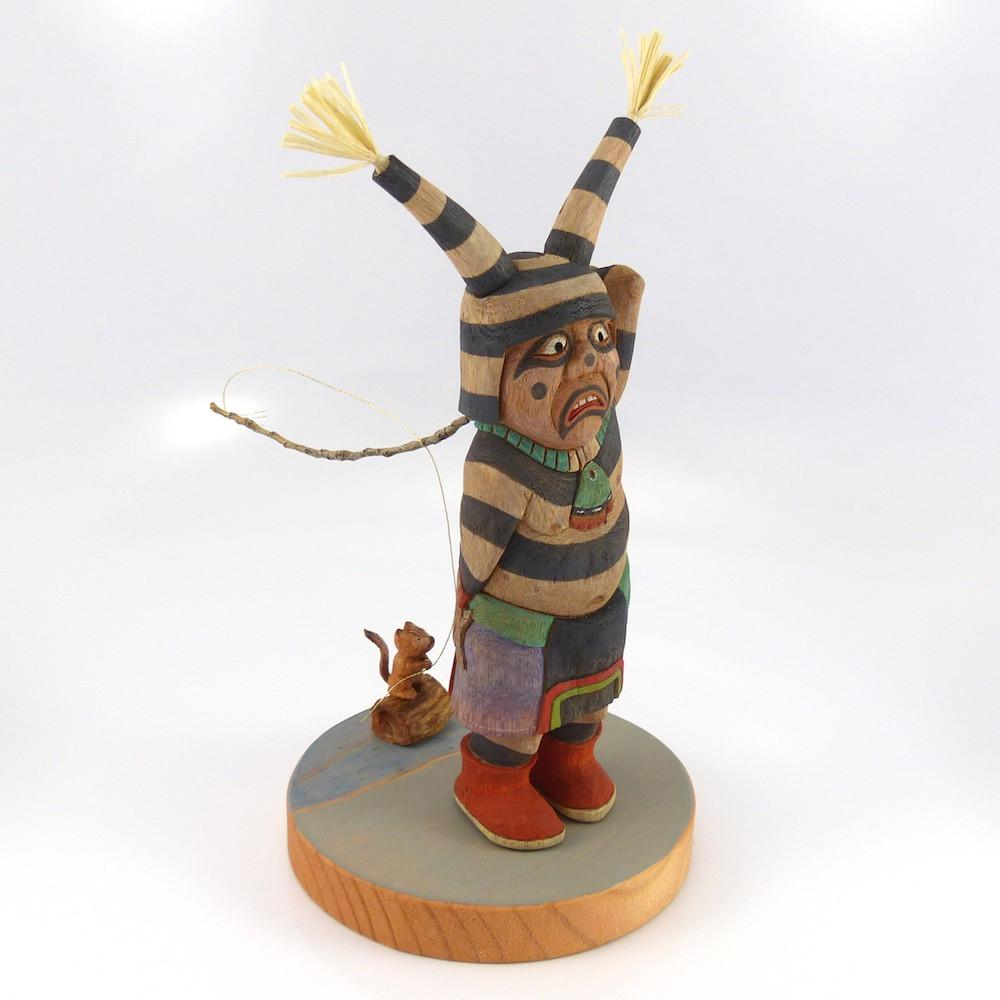 Clown Kachina - Kachinas - Ted Pavatea - 1