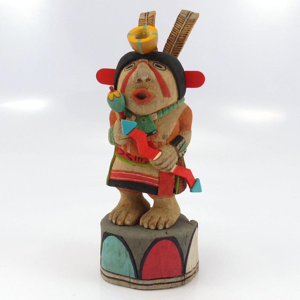 Cross Legged Kachina - Kachinas - Ted Pavatea - 1